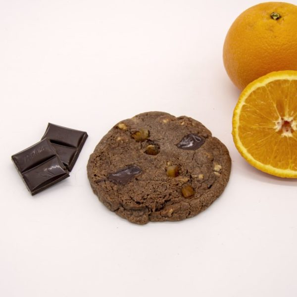 cookie chocolat noir orange
