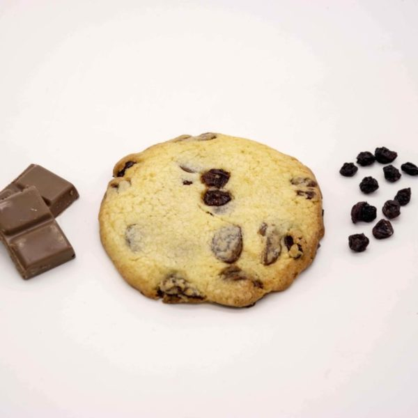 cookie chocolat lait raisins