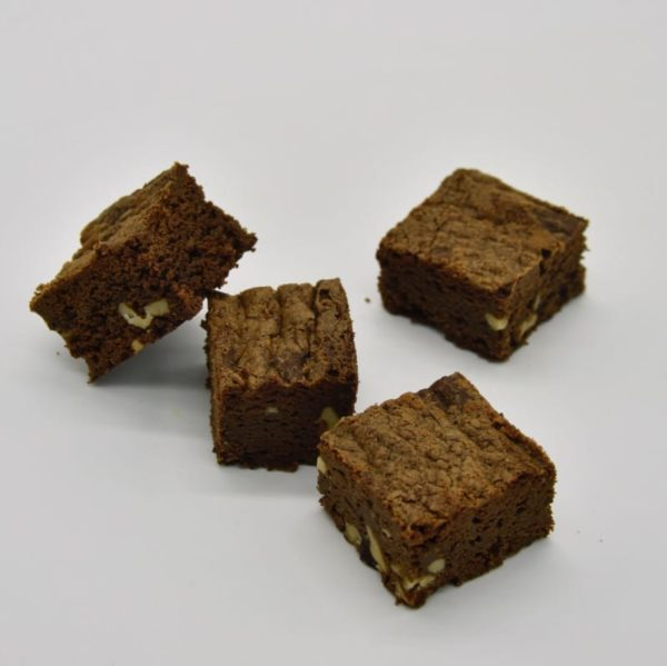mini brownie chocolat noir noix